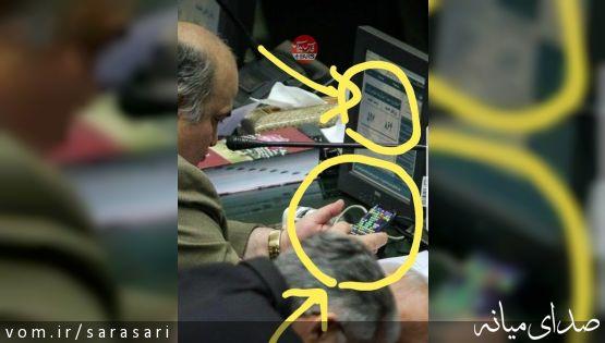 واکنش مره صدق به انتشار تصویرش حین بازی در مجلس ؛مگر جنایتی رخ داده؟
