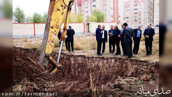 عملیات اجرایی احداث بیمارستان خصوصی در میانه آغاز شد