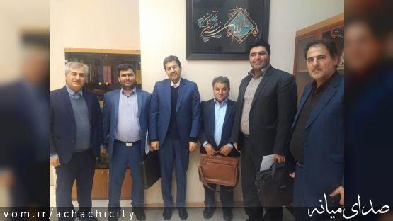 # مهم ترین مباحث مطرح گردیده شهرداری آچاچی در جلسه با رئیس سازمان دهیاری ها و شهرداری های کل کشور