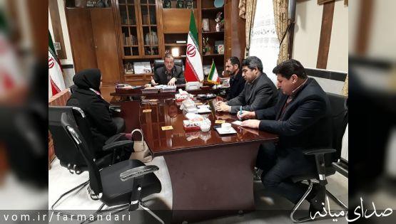 ملاقات مردمی فرماندار میانه با مردم برگزار شد
