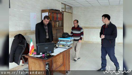 بازدیدهای فرماندار ویژه میانه، فراتر از محدوده این شهر/ از دستگاههای اداری شهر آچاچی بازدید شد