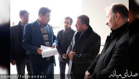 فرماندار ویژه میانه از روند ساخت کشتارگاه صنعتی میانه بازدید کرد