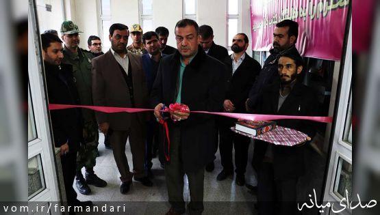 با حضور فرماندار ویژه میانه، نمایشگاه کتاب در این شهرستان افتتاح شد