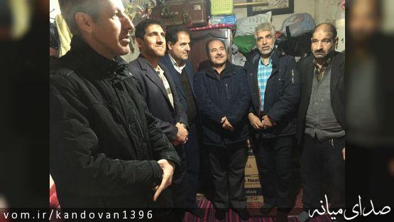احداث یک واحد خانه محروم با مشارکت اهالی ترک و کمیته امداد بخش کندوان