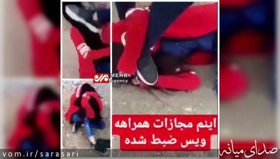 کتک زدن و شکنجه دختر جوان توسط دو نفر در سیرجان +تصویر