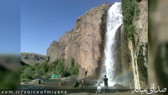 معرفی موقعیت آبشار و سد آیدوغموش میانه +تصاویر