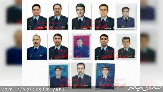 یک میانه ای در میان جان باختگان امروز سقوط هواپیمای بوئینگ ۷۰۷ در کرج