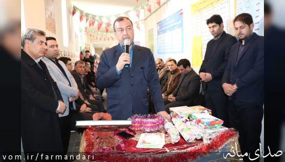 فرماندار ویژه میانه: حفظ دستاوردهای انقلاب بالاترین وظیفه ما بویژه دانش آموزان است
