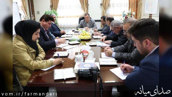 فرماندار ویژه میانه: ارتقای پلی کلینیک تامین اجتماعی میانه و تکمیل مجموعه ورزشی کارگران ازمهمترین مطالبات مردمی است