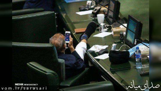 واکنش ذوالقدر به عکس جنجالیاش در مجلس: من نبودم