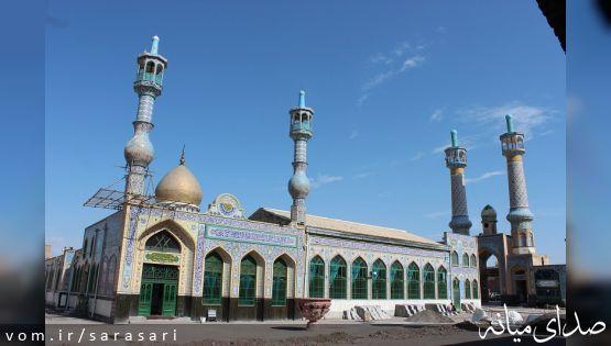 آخرین مراحل طرح مرمت و توسعه امامزاده سیداسماعیل میانه