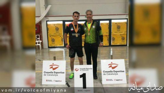 طلای تنیسور میانهای در مسابقات جهانی کارگران