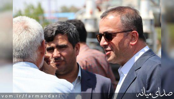 تصاویر / فرماندار ویژه میانه از دو پروژه عمرانی شهرستان بازدید کرد