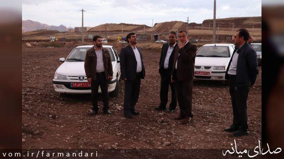 بازدید فرماندار ویژه میانه از روند چند پروژه در حال انجام شهرداری