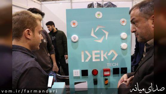 فرماندار ویژه میانه از غرفه های این شهرستان در نمایشگاه نوآوری و فناوری ربع رشیدی تبریز بازدید کرد