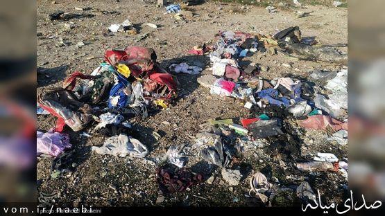 سکوت عجیب مسئولین میانه در مقابل همشهریان کشته شده در سقوط هواپیما