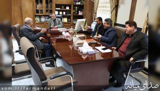 جلسه ملاقات عمومی فرماندار ویژه میانه با مردم برگزار شد
