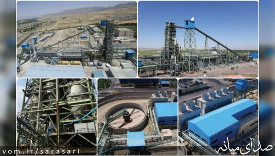 ثبت رکورد جدید تولید در مجتمع فولاد میانه