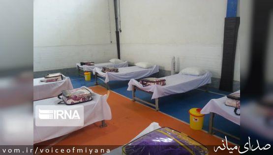 افتتاح نقاهتگاه بیماران کرونایی در میانه