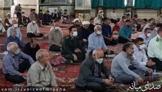 تداوم برگزاری نمازجمعه میانه در شرایط قرمز کرونایی