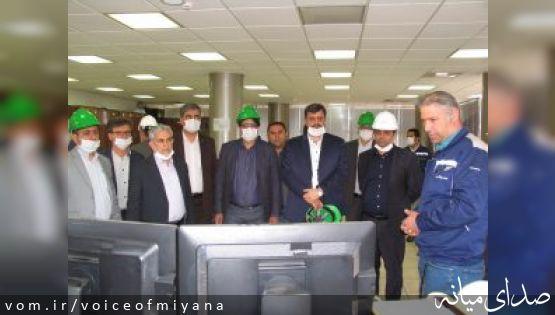 بازدید مدیرعامل و هیئت مدیره شرکت ملی فولاد ایران از مجتمع فولاد میانه