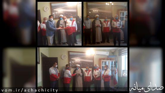 تقدیر از جهادگران مقابله با شیوع ویروس کرونای شهرداری آچاچی به مناسبت هفته شهرداری و دهیاری