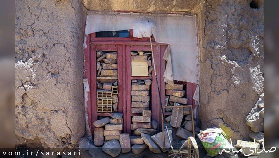 تصاویر روستاهای میانه ۹ ماه پس از زلزله