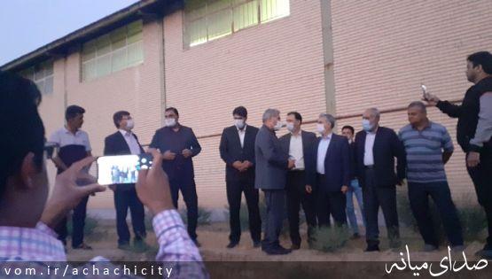 بررسی مشکلات شهر آچاچی با حضور حاج مهدی اسماعیلی نماینده مردم شهرستان میانه