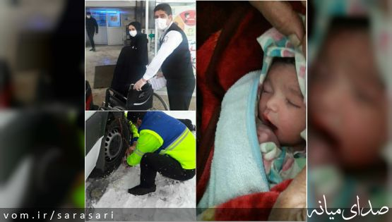 تولد رُندترین نوزاد در آمبولانس اورژانس کلیبر+تصویر