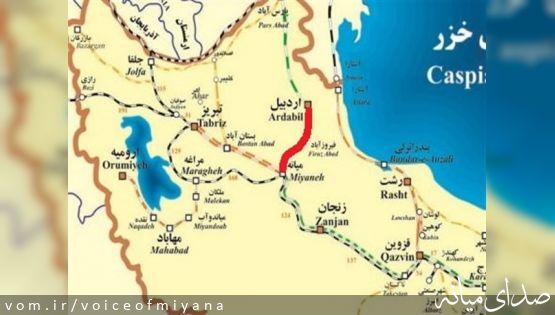 اهمیت راه آهن اردبیل - میانه برای کشور و منطقه از دید نماینده اردبیل