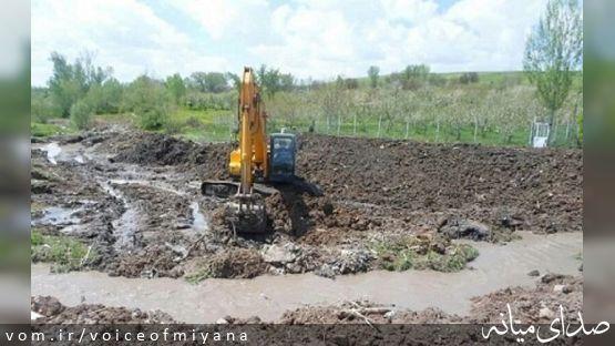 آزادسازی بیش از چهار کیلومتر از حریم رودخانه ترکمانچای