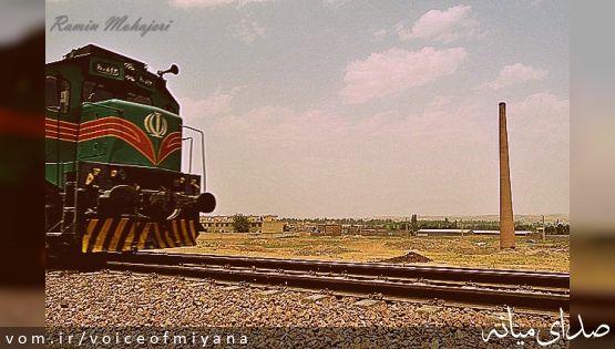 نماد خاطره انگیز میانه ایها و صدها هزار مسافر قطار با خاک یکسان شد +تصاویر