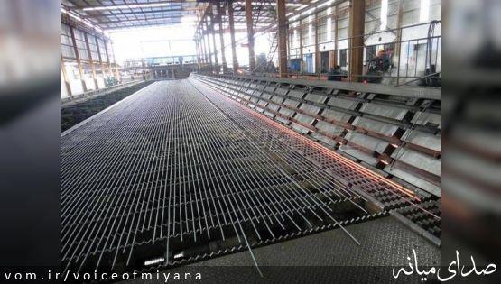 وعده مدیرعامل فولاد آذربایجان برای تولید 450 هزار تن میلگرد