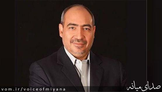 پیام تبریک دکتر قنبری رئیس سازمان خصوصی سازی کشور به منتخب مردم میانه