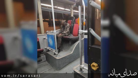 ماجرای کشف جسد در اتوبوس پایتخت چیست؟ × تصویر
